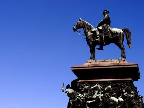 102nd anniversary of the monument to Alexander II