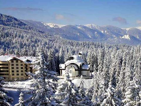 The hotels in Pamporovo - filled during the holidays
