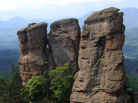 The rock formations of Belogradchik - third