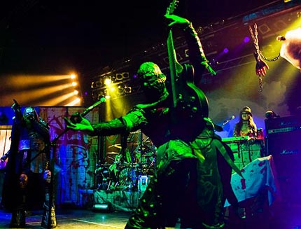 The monsters from Lordi rocked Sofia